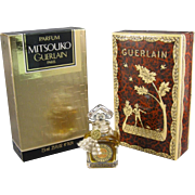 SOLD Mitsouko Parfum Perfume, Guerlain Paris C.1980s, .25 OZ.