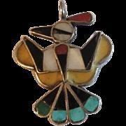Zuni Thunderbird Pendant
