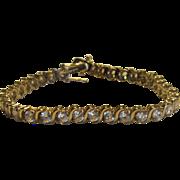 Classic Tennis Bracelet, .925 Sterling Silver Han Cubic Zirconia