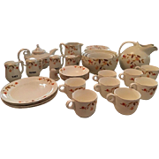 32 Piece Lot of Hall Jewel Tea Autumn Leaf China Vintage Mixing Bowls Pitchers