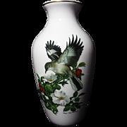 SALE Kaiser W Germany Roger Tory Peterson Mockingbird Porcelain Vase