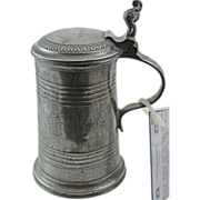 19th Century German Pewter Stein - 2