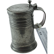 19th Century German Pewter Stein - 3