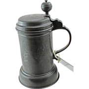 19th Century German Pewter Stein - 4