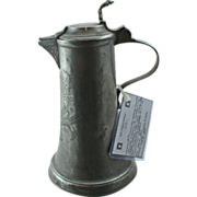 19th Century German Pewter Flagon - 2