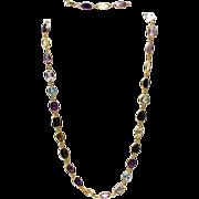 SALE 200CT Natural Mutli-Color Gemstones, Citrine, Amethyst, Garnet, Blue Topaz and Smoky ...