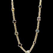 SALE 125CT Natural Mutli-Color Gemstones, Citrine, Amethyst, Garnet, Blue Topaz and Smoky ...
