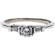 SALE Natural Diamond Wedding Band for your Engagement Ring in Platinum