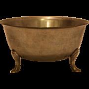 Stieff Queen Anne pewter bowl