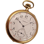 1896 Waltham Maximus Pocket Watch 21 Jewel
