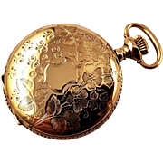 1901 Ladies Hunting Case Watch, Waltham