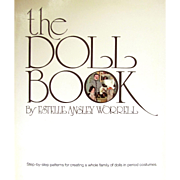 REDUCED 30% OFF - THE DOLL BOOK -E.A. Worrell; VINTAGE STEP BY STEP PATTERNS FOR ...