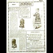 "Original Vintage Mint Hazel Ulseth - Helen Shannon Little Girls Costume for 22"" doll; 188"