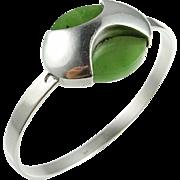 Jade Bracelet Jade Bangle Nephrite Jade Green Jade Jade Bangle Bracelet Silver Bracelet ...