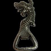 Vintage German Bottle Opener Dragon Head