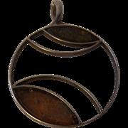 Mid Century 925 Silver Pendant