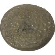 Mid Century 60´s DORIA Organic Structure Glass Lamp Flush Mount