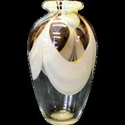 David R. Boutin Art Glass Studio vase