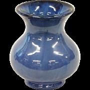 Fulper Blue Flambe vase
