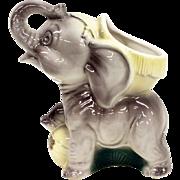 Royal Copley Elephant figurine / planter