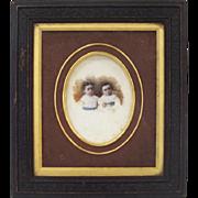 19'th Century colored photo