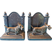 Jennings Brothers Scottie Dog Bookends