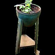 Pair of Art Deco Garden Planters - sheet metal