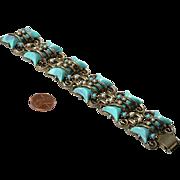 Fabulous, Chunky 50's Faux Bracelet - poss. unsigned HAR