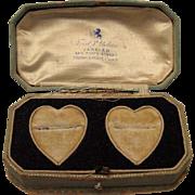 1920's Wedding Ring(s) Presentation Jewelry Box