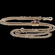 Victorian GF Watch Chain, Lorgnette Chain, Muff Chain