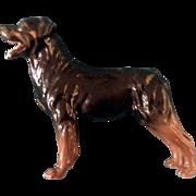 Royal Doulton Rottweiler Dog Figurine Discontinued DA 99