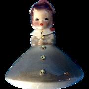 Josef Originals Mushroom Girl Birthday March Vintage Japan American Beauty Series Ceramic ...