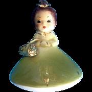 Josef Originals Mushroom Girl Birthday May Vintage Japan American Beauty Series Ceramic ...