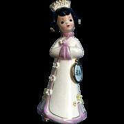 Josef Originals Japanese International Girl RARE Lavender Version Vintage Japan Figurine