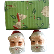 Vintage Brinn's Pittsburgh, Pa. Santa Claus St. Nicholas  Head Salt and Pepper Shakers ...