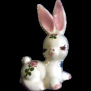 Delee Honey Bun Bunny Rabbit Pottery Figurine (1940's-1950's) California Pottery Hand ...