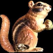 Josef Originals Chipmunk Squirrel Animal Figurine Vintage