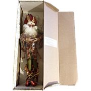 Retired Mark Roberts Pomegranate Fairy, Med 51-82458 Limited Edition 712/1500 Christmas Doll 1