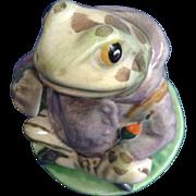 Beatrix Potter Mr. Jeremy Fisher Fredrick Warne & Co. 1950 Beswick England Frog Figurine BP-3b