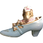 Beatrix Potter Appley  Dapply's The Old Woman who Lived in a Shoe Mice Fredrick ...