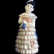 Ceramic Arts Studio Lillibelle Black Hair 1950's Bell Ceramic California Pottery Figurines
