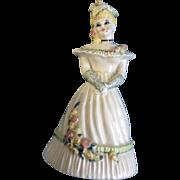 Ceramic Arts Studio Summer Belle Blonde 1950's Bell Ceramic California Pottery Figurines