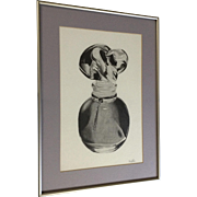 Keri LePore, Photorealism Graphite Art Perfume Bottle Picture Works on Paper Signed by Artist