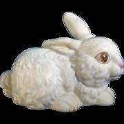 Goebel White Bunny Rabbit Western Germany # 34-814-06 TMK-6 Porcelain Figurine