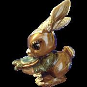 DeLee Art Rabbit California Pottery Bunny Hard to Find 1950's Ceramic Figurine