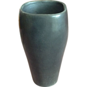 Van Briggle Vase Very Rare Discontinued Limited Edition Pottery Ceramic Metallic Silver Vase 1