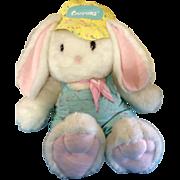 """Hallmark Crayola Crayon Bunny 1989 - 1990 Limited Edition Huge 41"""" inches Tall Stuffed Pl"""