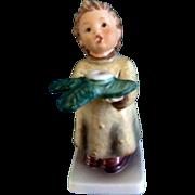 """Hummel Figurine """"A Gentle Glow, Das Lichtlein Brennt"""" #439 Goebel Little Boy Candle Holder"""
