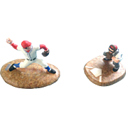 "Dept. 56 Baseball Accessory ""Warming Up"" Christmas in the City #56.59425 T4 Figurine"