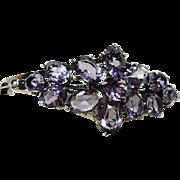 Edwardian Amethyst and Seed Pearl Bracelet